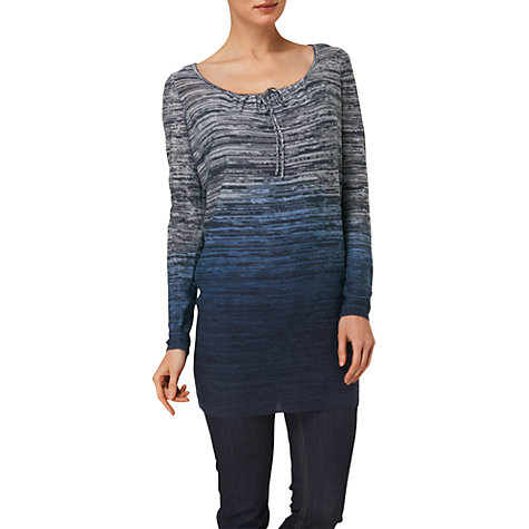 Buy Phase Eight Daisy May Dip Dye Jumper, Navy Online at johnlewis.com