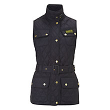 Buy Barbour International Blackwater Gilet, Navy Online at johnlewis.com
