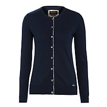 Buy Barbour Hamerley Cardigan, Navy Online at johnlewis.com