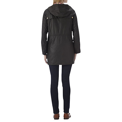 Buy Barbour Lula Durham Jacket, Olive/Mayfair Online at johnlewis.com
