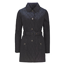 Buy Barbour Langdale Quilted Jacket, Navy Online at johnlewis.com