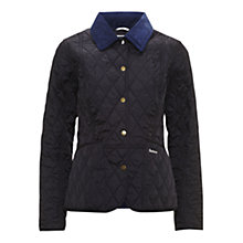 Buy Barbour Pantone Prism Quilted Liddesdale Jacket, Navy Online at johnlewis.com