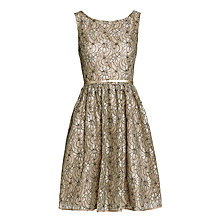 Buy Derhy Deguisement Lace Dress, Beige Online at johnlewis.com