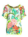 Derhy Facade Flower Top, Ecru