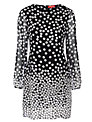 Derhy Polka Dot Dress, Noir