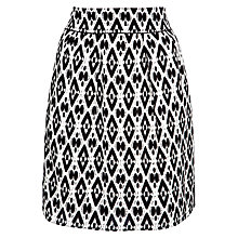 Buy BOSS Orange Printed Baleni Skirt, Monochrome Online at johnlewis.com