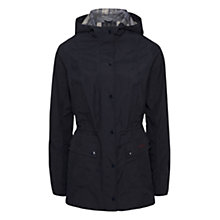 Buy Barbour Outdoor Hooded Beadnell Jacket, Navy Online at johnlewis.com