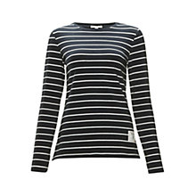 Buy Barbour Essington Top, Navy Online at johnlewis.com