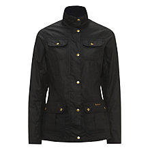 Buy Barbour Morris Utility Waxed Jacket Online at johnlewis.com