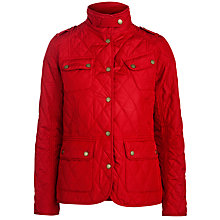 Buy Barbour International Drax Quilted Jacket Online at johnlewis.com