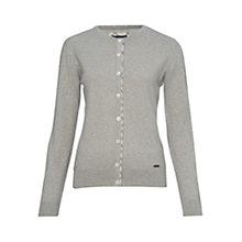 Buy Barbour Hamerley Cardigan, Oatmeal Online at johnlewis.com