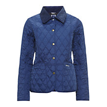 Buy Barbour Pantone Prism Quilted Liddesdale Jacket, Atlantic Blue Online at johnlewis.com