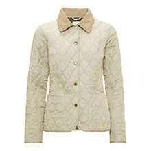 Buy Barbour Pantone Prism Quilt Liddesdale Jacket, Pearl Online at johnlewis.com