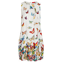 Buy Derhy Thisbe Butterfly Dress, Ecru Online at johnlewis.com