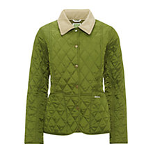 Buy Barbour Pantone Prism Quilted Liddesdale Jacket, Turf Online at johnlewis.com