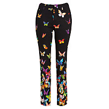 Buy Derhy Butterfly Trousers, Noir Online at johnlewis.com