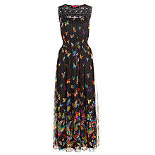 Buy Derhy Tallipot Maxi Dress, Noir Online at johnlewis.com