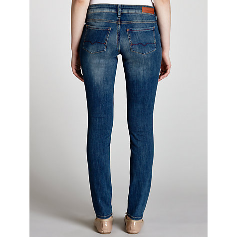 Buy BOSS Orange Lunja Jeans, Bright Blue Online at johnlewis.com