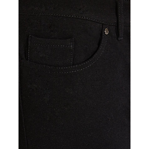 Buy BOSS Alyna Slim Trousers, Black Online at johnlewis.com