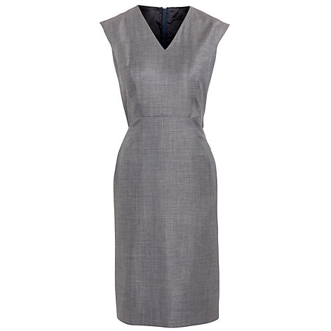 Buy Boss Black Tailored Dalana Dress, Grey Online at johnlewis.com