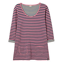 Buy Seasalt Sassy Reversible Tunic Top, Duo Tamarisk Online at johnlewis.com