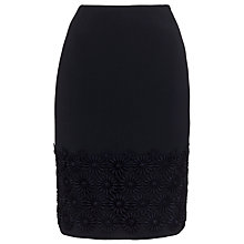 Buy Boss Black Vevi Flower Skirt, Open Blue Online at johnlewis.com