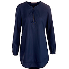 Buy Sandwich Zip Front Tunic Top, Navy Online at johnlewis.com