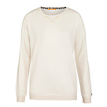 Buy BOSS Orange Talomas Jumper, Cream Online at johnlewis.com