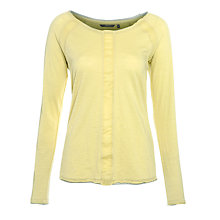 Buy Sandwich Slub Jersey Top, Light Green Online at johnlewis.com