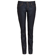 Buy Boss Orange Lessunta Straight Jeans, Navy Online at johnlewis.com