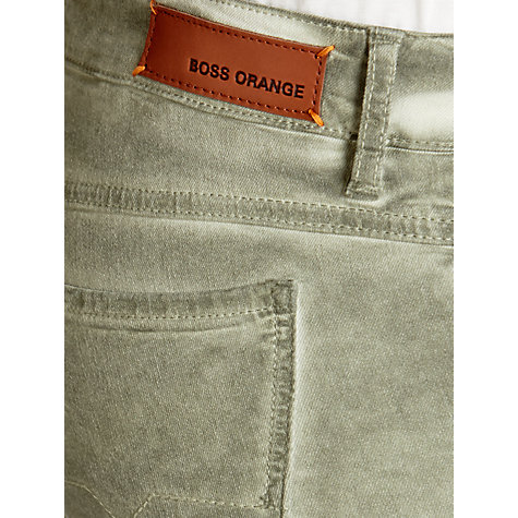 Buy Boss Orange Lunja Slim Jeans, Dark Beige Online at johnlewis.com