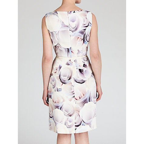 Buy Boss Black Dinoma Floral Dress, Open Mix Online at johnlewis.com
