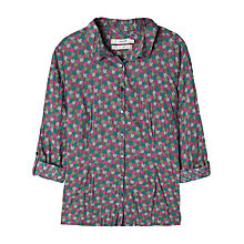 Buy Seasalt Larissa Shirt, Madron Leaves Multi Online at johnlewis.com