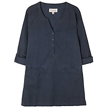 Buy Seasalt Sepia Smock Tunic Dress, French Navy Online at johnlewis.com