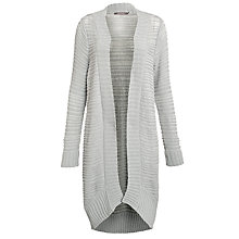 Buy Sandwich Chunky Knit Cardigan, Pearl Grey Online at johnlewis.com