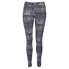 Buy Sandwich Cotton Print Leggings, Navy Online at johnlewis.com