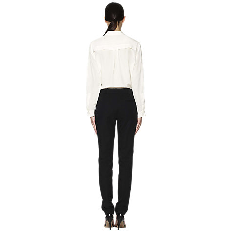 "Buy Whistles Heidi Trousers, Long Length, 32"", Black Online at johnlewis.com"