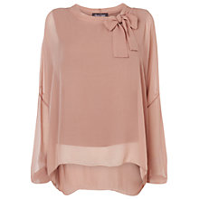 Buy Phase Eight Made In Italy Ariana Blouse, Dusty Pink Online at johnlewis.com