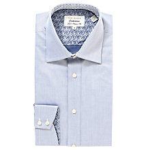 Buy Ted Baker Endurance Stirling Long Sleeve Shirt, Blue Online at johnlewis.com