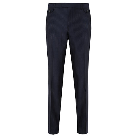 Buy Ted Baker Endurance Sterling Stripe Suit Trousers, Navy Online at johnlewis.com
