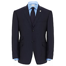 Buy Ted Baker Endurance Sterling Stripe Suit Jacket, Navy Online at johnlewis.com