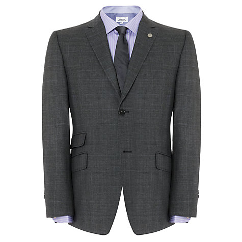 Buy Ted Baker Endurance Sterling Prince of Wales Check Suit Jacket, Grey Online at johnlewis.com