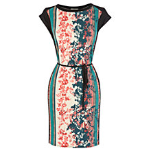 Buy Oasis Scarf Print T-shirt Dress, Multi Online at johnlewis.com