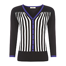 Buy Precis Petite Stripe Pattern Cardigan, Multi Online at johnlewis.com