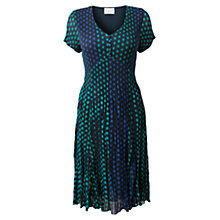 Buy East Alma Dress, Navy Online at johnlewis.com