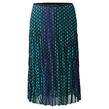 Buy East Alma Skirt, Navy Online at johnlewis.com