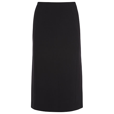 Buy Windsmoor Straight Tailored Skirt, Black Online at johnlewis.com