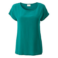 Buy East Silk Front T-Shirt Online at johnlewis.com