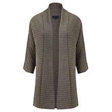 Buy Viyella Ribbed Cardigan, Natural Online at johnlewis.com
