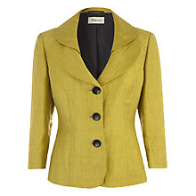 Buy Precis Petite Crinkle Jacket, Green Fennel Online at johnlewis.com